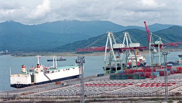 Порт Восточный в Находке