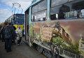 В Киеве прошел Парад трамваев