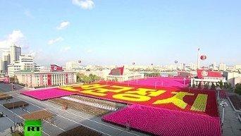 В КНДР состоялся крупнейший парад с участием 20 тыс военнослужащих