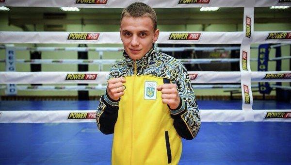 Украинский боксер Дмитрий Замотаев