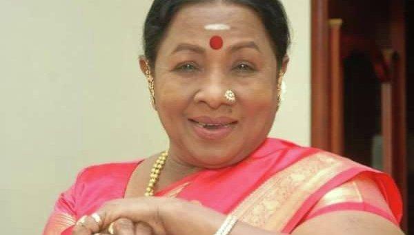 Индийская актриса Манорама