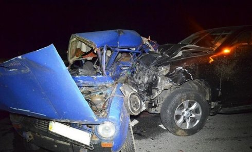 Авария на трассе Киев-Чоп в Житомирской области
