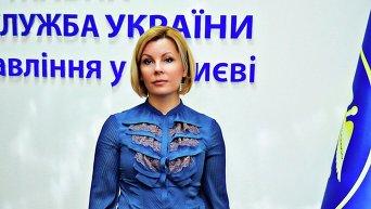 Начальник Главного управления ГФС в Киеве Людмила Демченко. Архивное фото