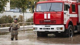Потоп на Борщаговке в Киеве