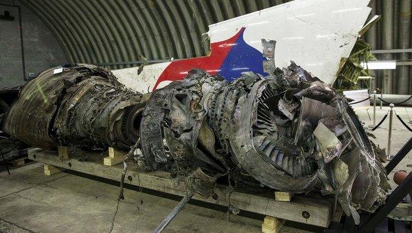Обломки МН17 в Нидерландах. Архивное фото