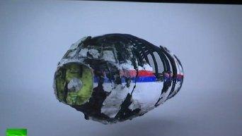 Симуляция катастрофы Boeing MH17, представленная Советом безопасности Нидерландов