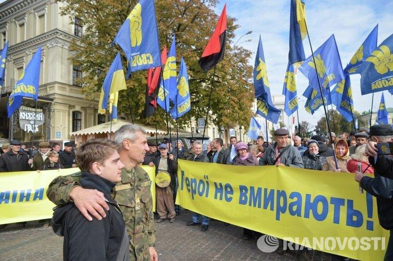 Марш националистических сил начался в Киеве - Цензор.НЕТ 7203