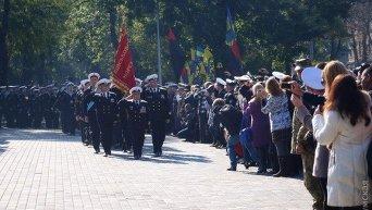 Военный марш в Одессе ко Дню защитника Украины, 14 октября 2015 г
