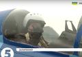 Порошенко провел испытательный полет СУ-27