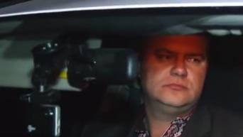 Задержание пьяного начальника таможенного поста Каховка. Видео