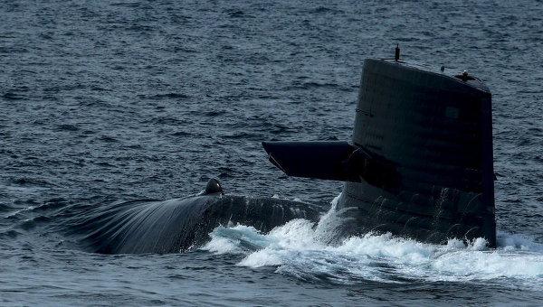 Атомная подлодка ВМС США врезалась ввоенный корабль