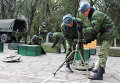 Отвод вооружений калибра менее 100 мм от линии соприкосновения в Луганской области
