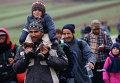 Нелегальные мигранты в Австрии