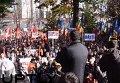 Протестующие перекрыли парламент Молдавии. Видео