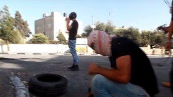 Столкновения между израильскими силовиками и палестинцами в Вифлееме