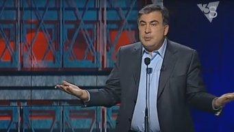 Саакашвили: в Украине законы защищают коррупцию. Видео