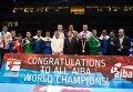 Братья Кличко на чемпионате мира в Катаре