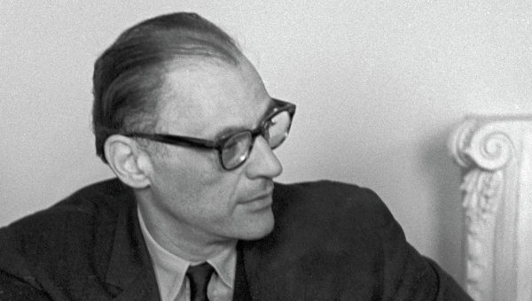 Американский драматург Артур Миллер