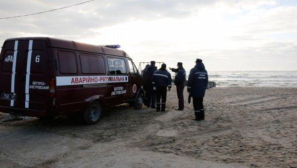 Спасательная операция по поиску пассажиров с катера Иволга в Одессе
