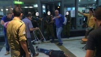 Теракт в израильском городе Беэр-Шева. Видео