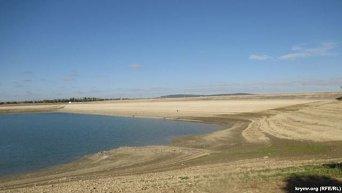 Белогорское водохранилище в Крыму