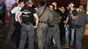 Теракт в израильском городе Беэр-Шева