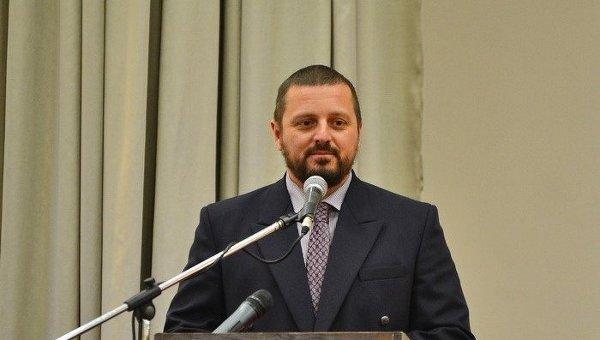 Министр внутренних дел ЛНР Игорь Корнет