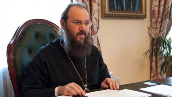 Управляющий делами Украинской православной церкви митрополит Бориспольский и Броварской Антоний