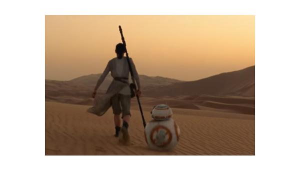 Кадр из трейлера Звездных войн
