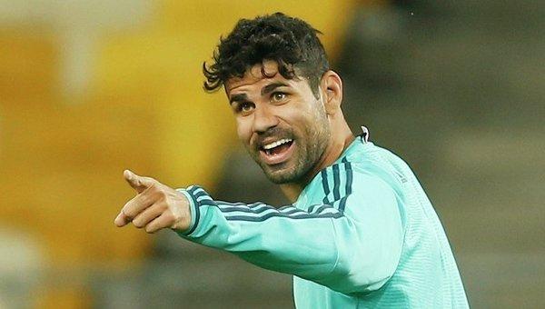 Игрок лондонского Челси Диего Коста
