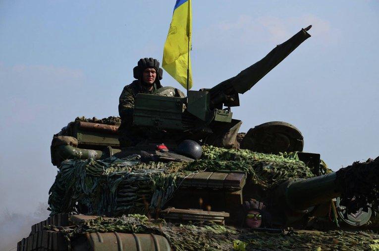 Отвод танков, минометов калибром до 120 мм и артиллерийских систем калибром менее 100 мм на дебальцевском направлении