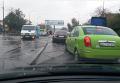 Плавающие автомобили после ливня в Одессе. Видео