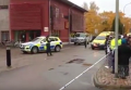 Вооруженное нападение на школу в Швеции. Видео