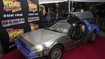 В Нью-Йорке отпраздновали 30-летие выхода в прокат фильма  Назад в будущее