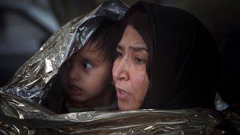 Ситуация с мигрантами с Ближнего Востока в Греции