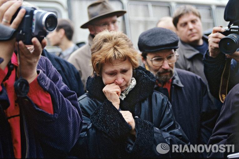 Захват заложников в Театрализованном центре на Дубровке