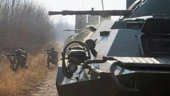 В Житомирской области 95 аэромобильная бригада ВДВ провела масштабные учения