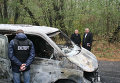 На месте нападения на инкассаторов в Черниговской области