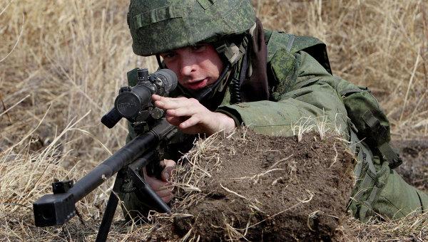 Учения бригады ВДВ РФ. Архивное фото