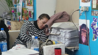 Ночь в типографии в Мариуполе накануне выборов