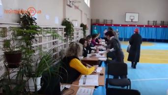Выборы мэра и депутатов горсовета в Краматорске. Видео