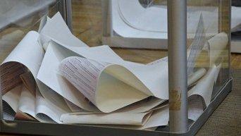 Голосование на выборах в Украине
