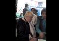 Попытка проголосовать дважды в Хмельницком. Видео
