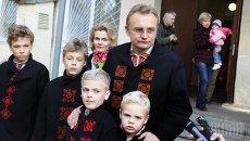 Мэр Львова Андрей Садовый. Архивное фото