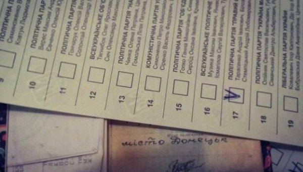 Селфи на местных выборах