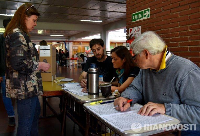 Президентские выборы в Аргентине