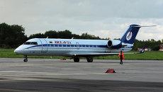Пассажирский самолет Boeing 737 авиакомпании Белавиа