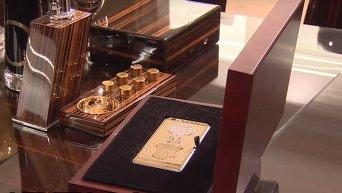 Итальянская компания показала золотой iPhone с портретом Кадырова. Видео
