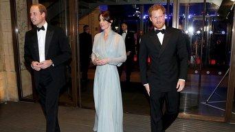 Принц Уильям, герцогиня Кэмбриджская, принц Гарри