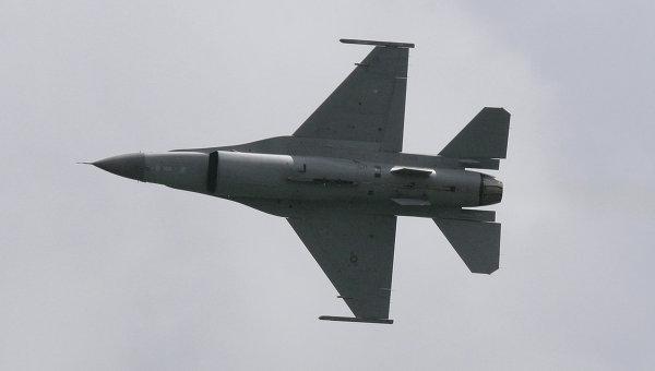 Генштаб Турции подтвердил крушение истребителя F-16